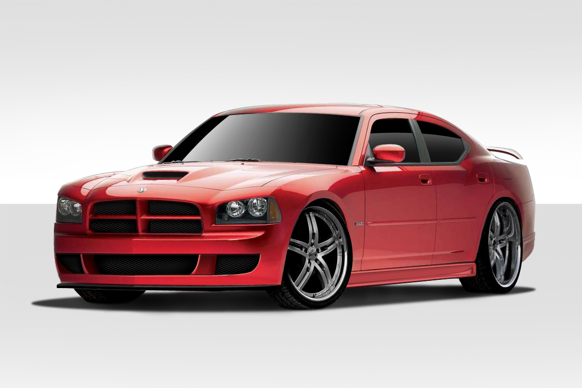 extreme dimensions item group   dodge charger duraflex rk  body kit