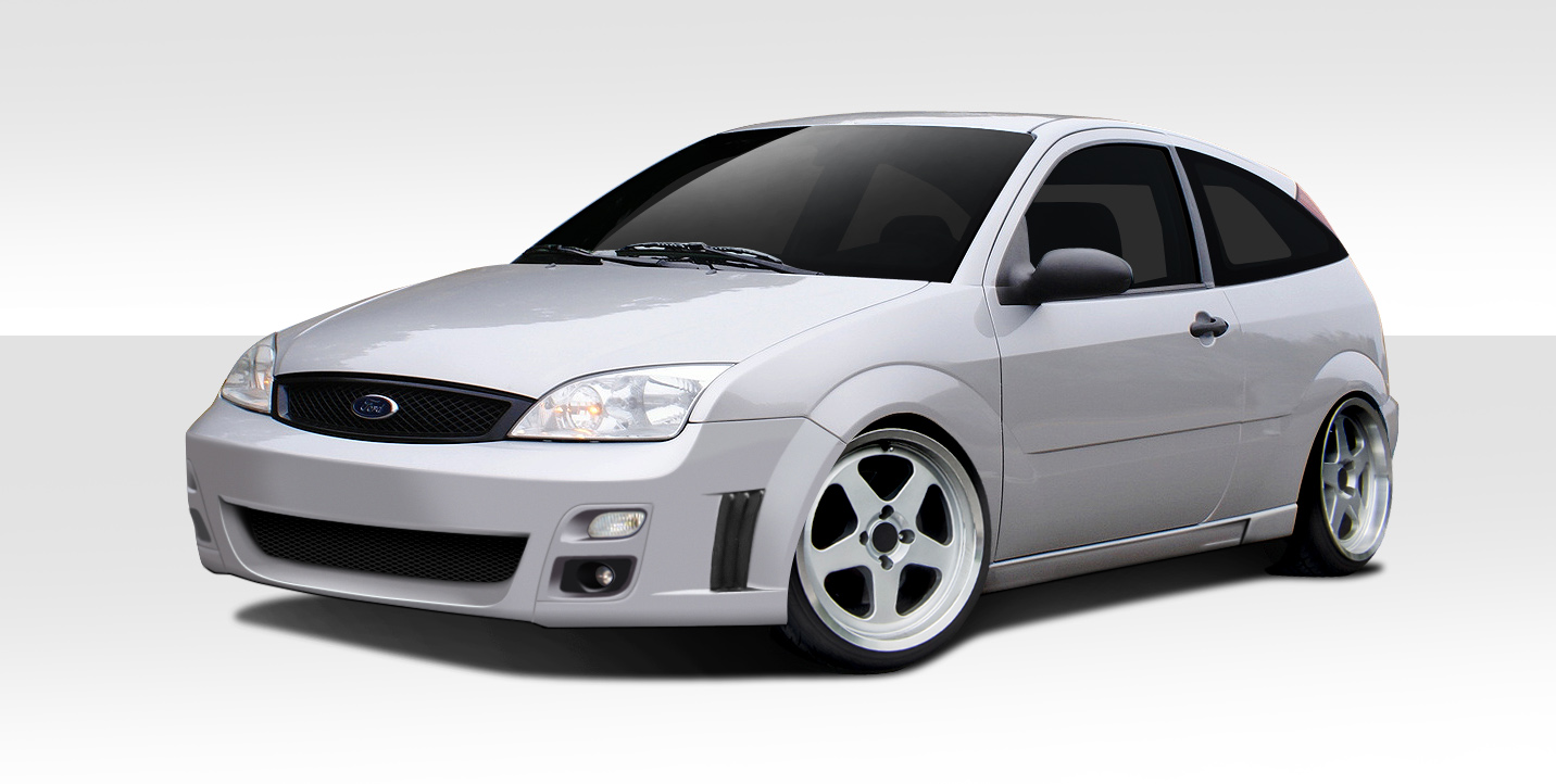 05 07 ford focus f sport duraflex full body kit 108821 ebay. Black Bedroom Furniture Sets. Home Design Ideas