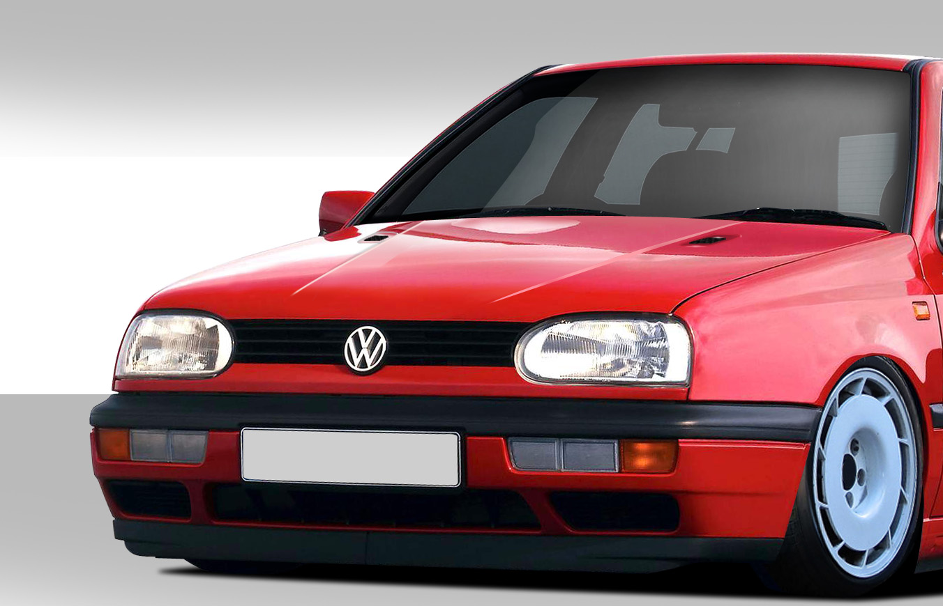 1996 volkswagen golf fiberglass hood body kit. Black Bedroom Furniture Sets. Home Design Ideas