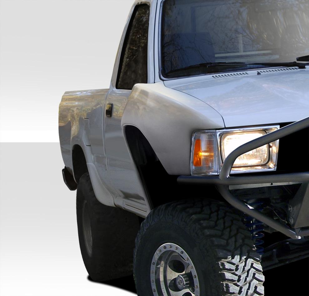 89 95 Toyota Pickup Bulge Duraflex Body Kit Front Fenders