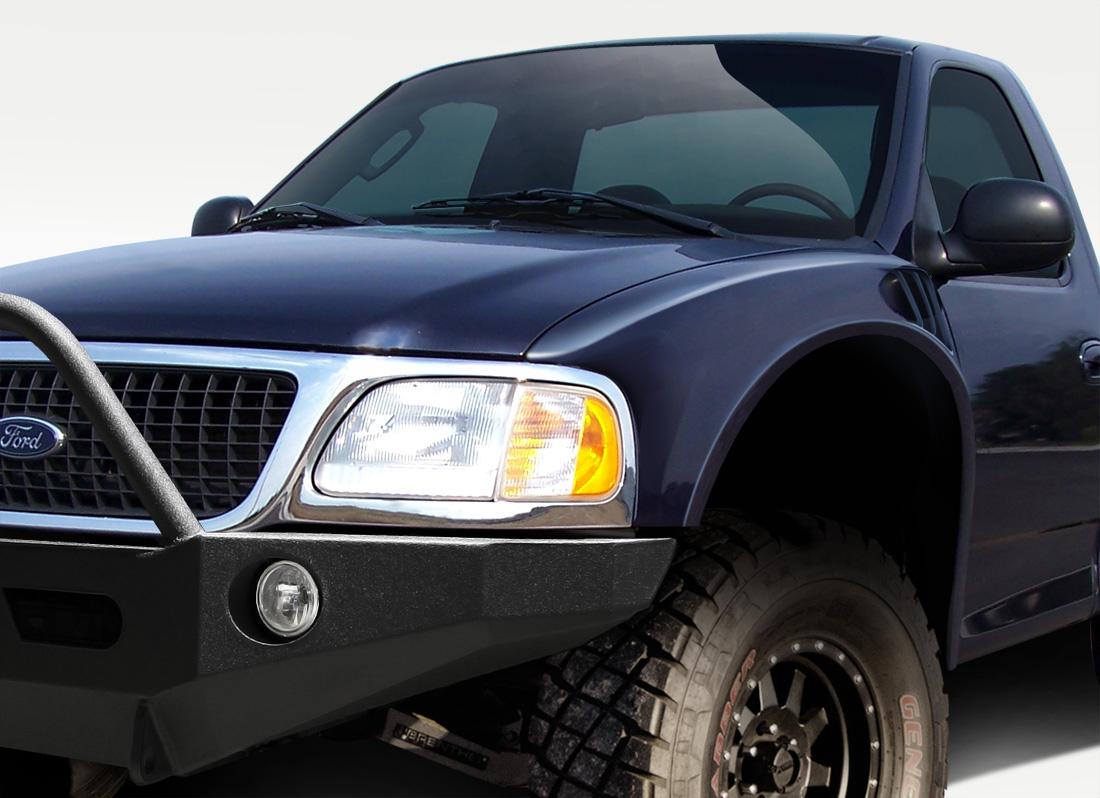 2002 F150 Fiberglass Fenders : Ford f fender body kit