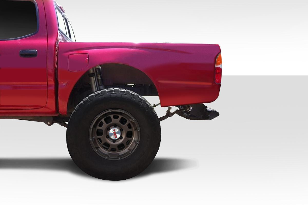 96 04 Toyota Tacoma Bulge Duraflex Body Kit Rear Fenders