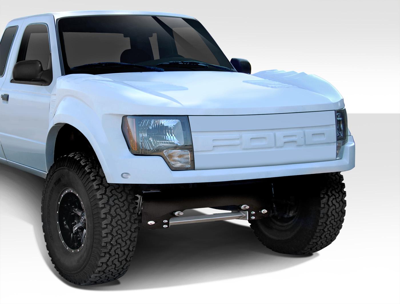 Image is loading 93 11 ford ranger conv duraflex body kit