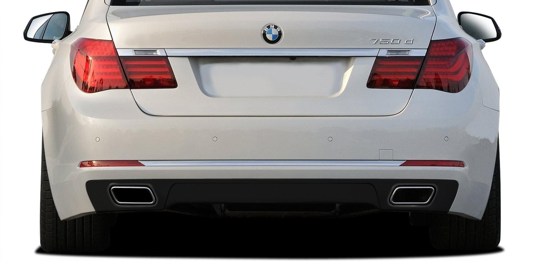 Rear Lip/Add On Bodykit for 2016 BMW 7 Series ALL - BMW 7 Series F01 F02 AF-1 Rear Diffuser ( GFK ) - 1 Piece