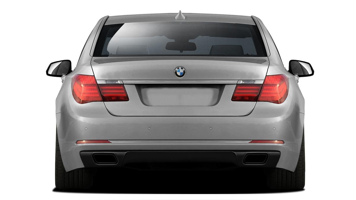 Carbon Fiber Fibre Rear Lip/Add On Bodykit for 2016 BMW 7 Series ALL - BMW 7 Series F01 F02 AF-1 Rear Diffuser ( CFP ) - 1 Piece