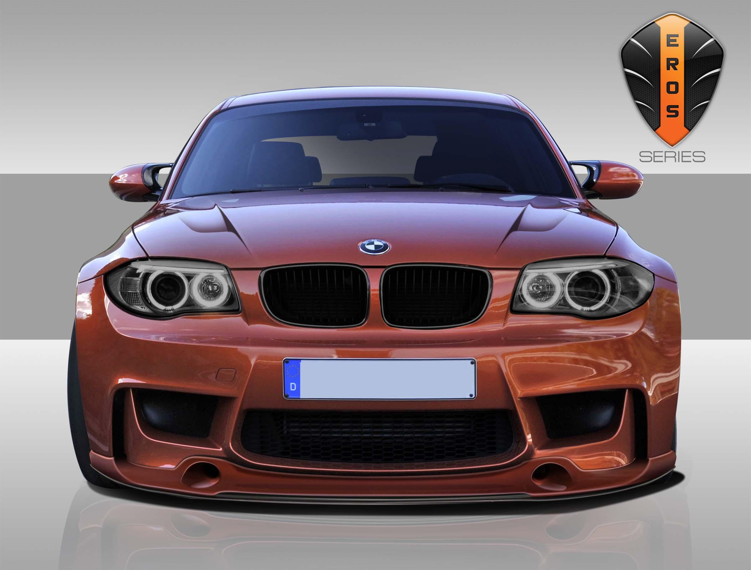 extreme dimensions 2011 2013 bmw 1 series m coupe 1m e82 2dr eros version 1 front lip under. Black Bedroom Furniture Sets. Home Design Ideas