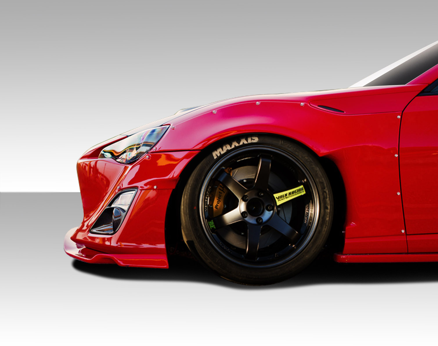 2014 scion frs fender body kit 2013 2016 scion fr s. Black Bedroom Furniture Sets. Home Design Ideas