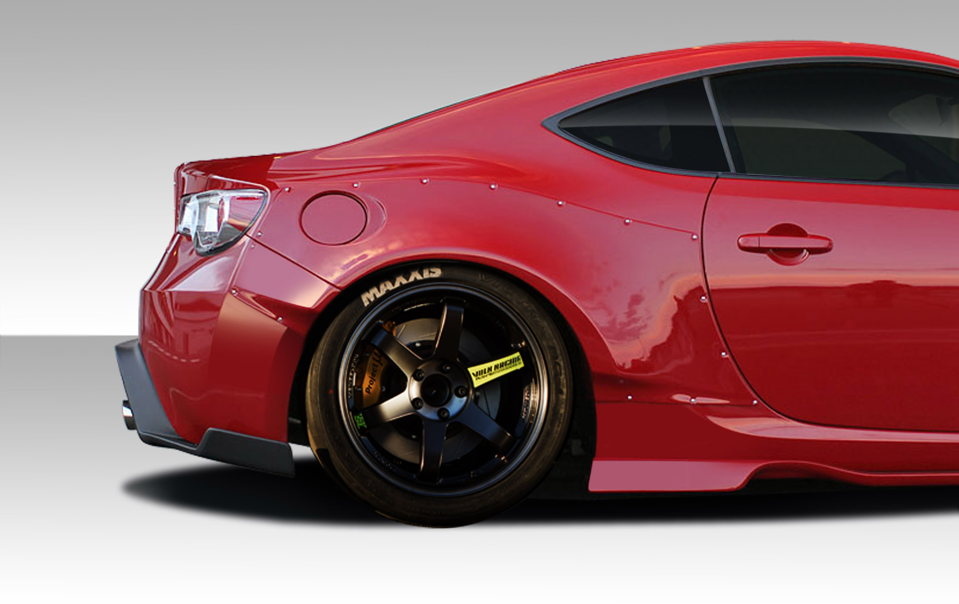 13 15 Scion Fr S Brz Duraflex Gt500 Wide Body Rear Fenders