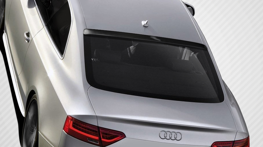 Wing Spoiler Bodykit for 2016 Audi A5 2DR - Audi A5 S5 2DR Carbon Creations CR-C Roof Window Wing Spoiler - 1 Piece