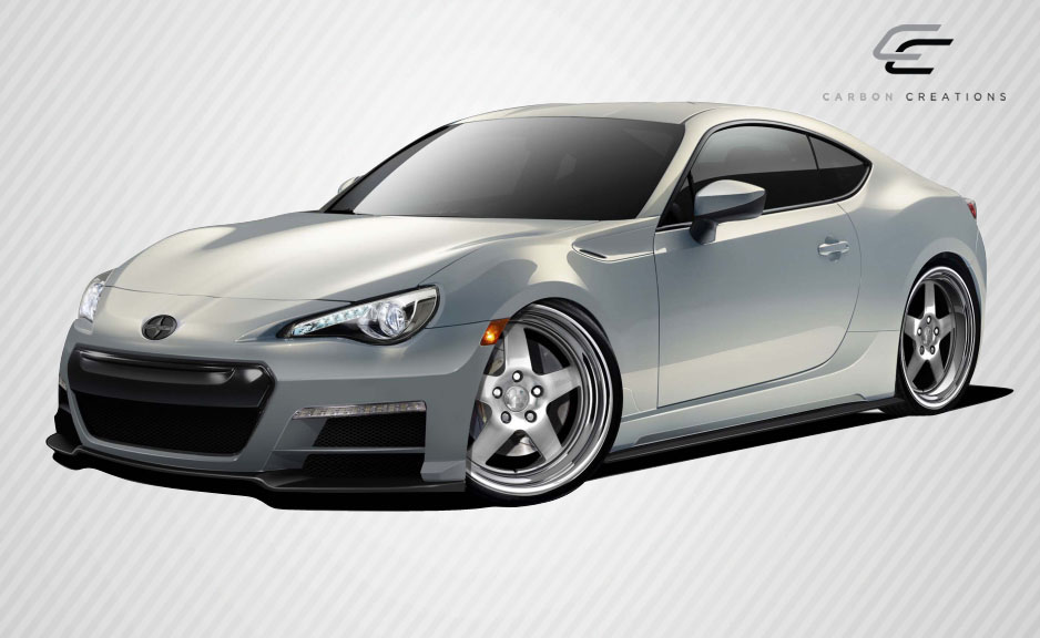 Body Kit Bodykit for 2016 Scion FRS ALL - Scion FR-S Subaru BRZ Carbon Creations 86-R Body Kit - 4 Piece - Includes 86-R Front Bumper Cover (