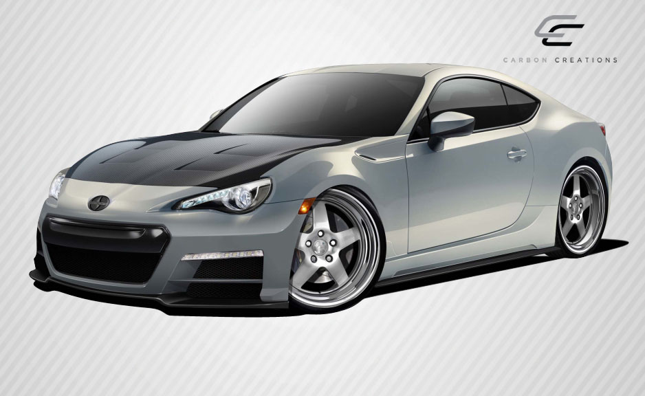 Body Kit Bodykit for 2016 Scion FRS ALL - Scion FR-S Subaru BRZ Carbon Creations 86-R Body Kit - 6 Piece - Includes 86-R Front Bumper Cover (