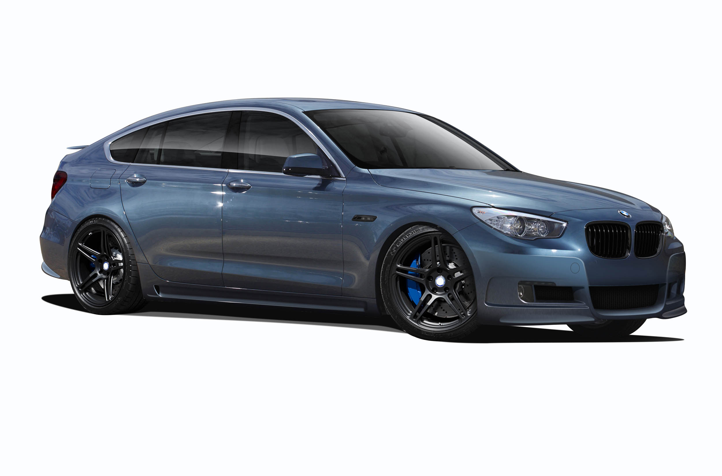 Body Kit Bodykit for 2016 BMW 5 Series ALL - BMW 5 Series GT Gran Turismo F07 AF-1 Complete Body Kit ( GFK ) - 5 Piece - Includes AF-1 Front Bum