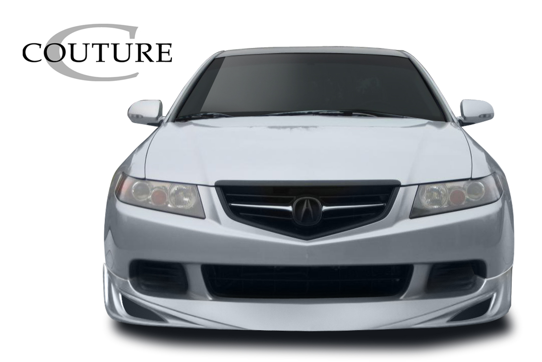 2004 Acura TSX ALL - Polyurethane Front Lip/Add On Bodykit - 2004-2005 Acura TSX Couture Vortex Front Lip Under Spoiler Air Dam - 1 Piece
