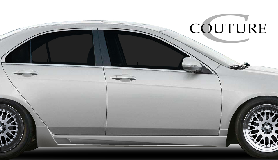 2004 Acura TSX ALL - Polyurethane Sideskirts Bodykit - 2004-2008 Acura TSX Couture Vortex Side Skirt Rocker Panels - 2 Piece