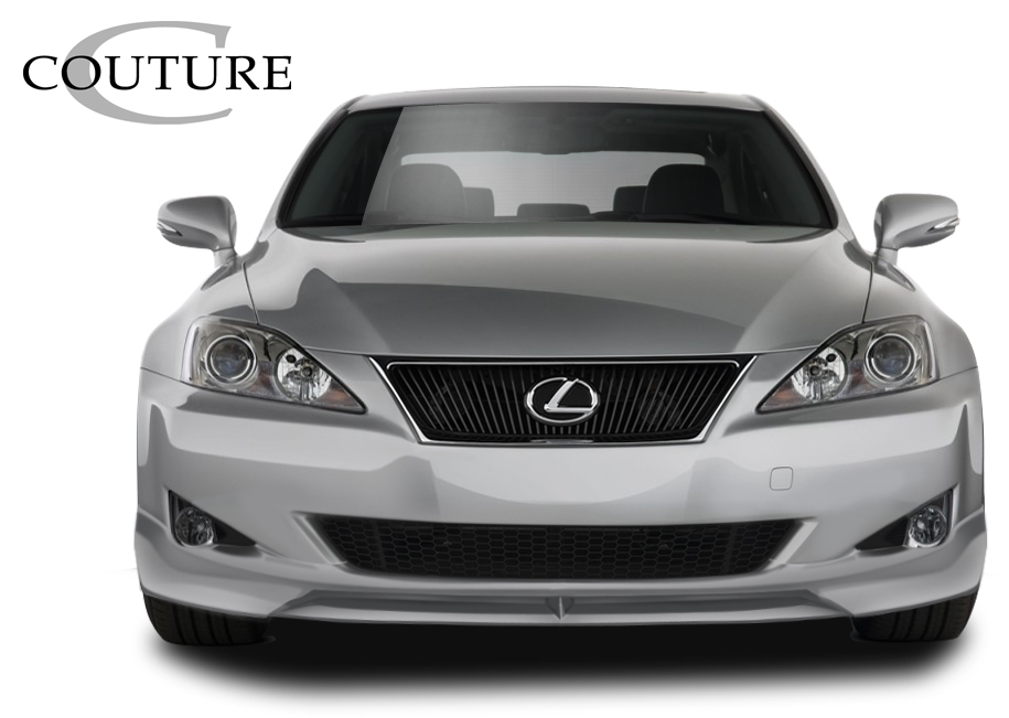 2007 Lexus IS ALL - Polyurethane Front Lip/Add On Bodykit - 2006-2008 Lexus IS Series IS250 IS350 Couture Vortex Front Lip Under Spoiler Air Dam - 1 P