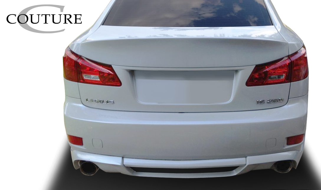 Polyurethane Rear Lip/Add On Bodykit for 2006 Lexus IS ALL - 2006-2013 Lexus IS Series IS250 IS350 IS250C IS350C Couture Vortex Rear Lip Under Spoiler