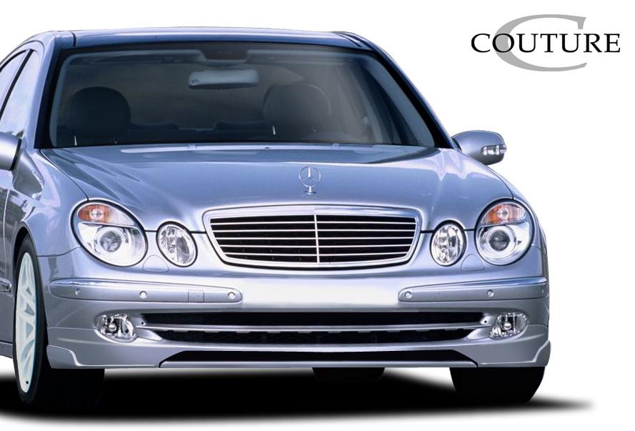 Polyurethane Front Lip/Add On Bodykit for 2003 Mercedes E Class ALL - 2003-2006 Mercedes E Class W211 Couture Vortex Front Lip Under Spoiler Air Dam (