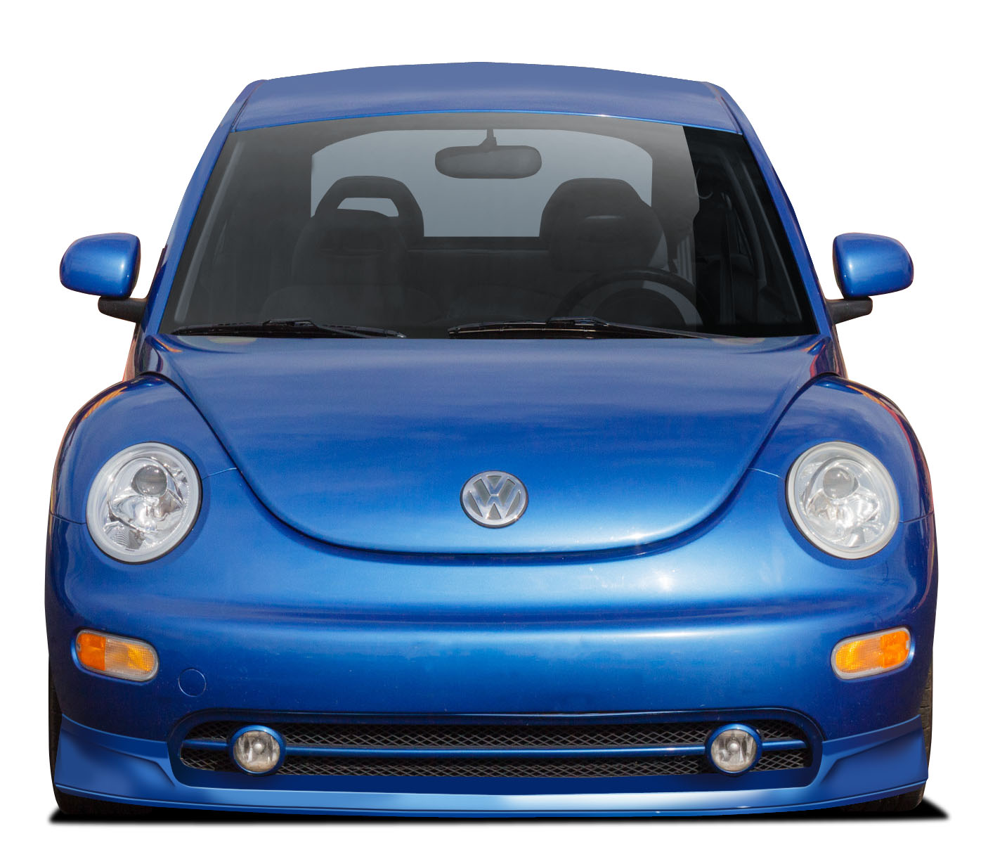 Polyurethane Front Lip/Add On Bodykit for 1998 Volkswagen Beetle ALL - 1998-2005 Volkswagen Beetle Couture Vortex Front Lip Under Spoiler Air Dam - 1