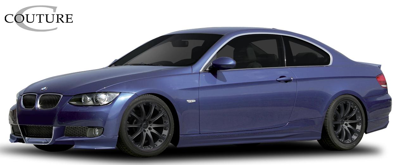 Polyurethane Bodykit Bodykit for 2007 BMW 3 Series 2DR - 2007-2010 BMW 3 Series E92 2DR Couture Vortex Kit - 6 Piece - Includes Vortex Front Lip Under