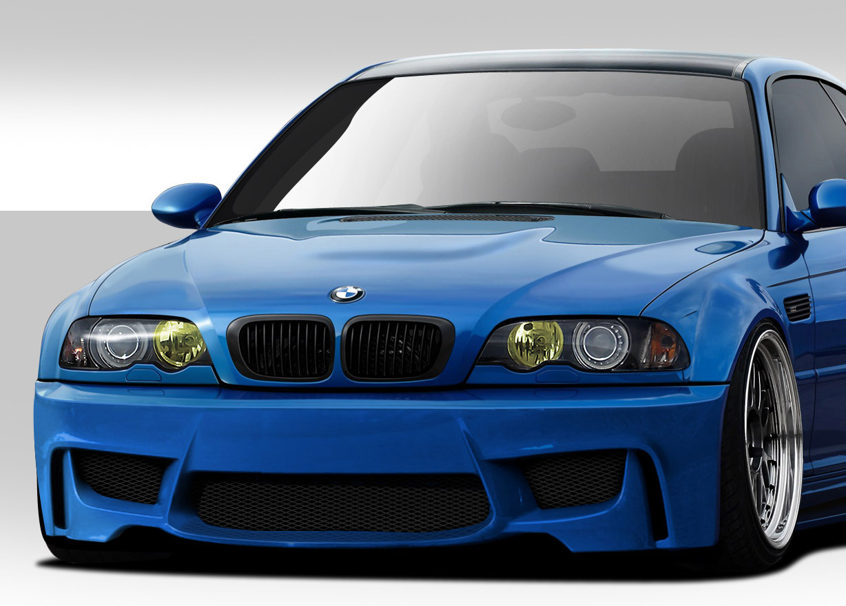 Welcome To Extreme Dimensions Inventory Item 2001 2006 Bmw M3 E46 Duraflex 1m Look Front