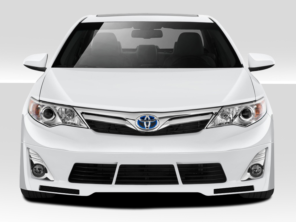 2012 2014 toyota camry duraflex racer front lip toyota. Black Bedroom Furniture Sets. Home Design Ideas