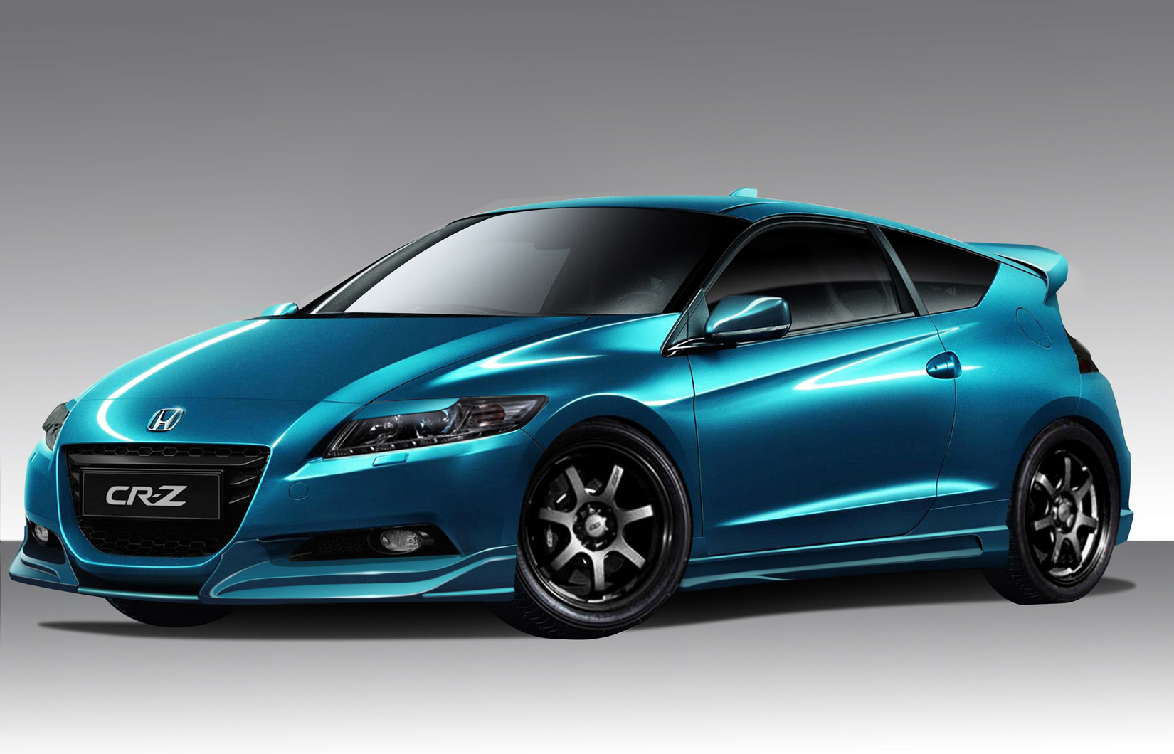 11 12 honda cr z c blaze duraflex full body kit 109392 ebay. Black Bedroom Furniture Sets. Home Design Ideas