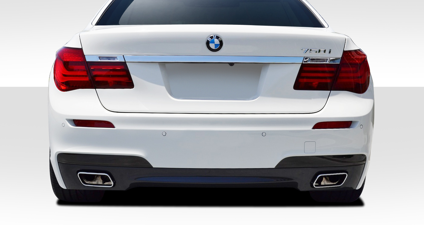 Extreme Dimensions 2009 2014 BMW 7 Series F01 Duraflex M Sport Look Rear Bumper Cover