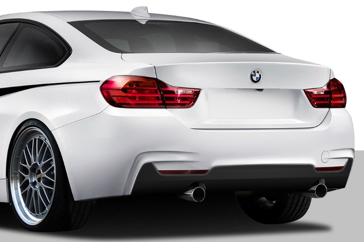 Welcome To Extreme Dimensions Inventory Item 2014 2018 BMW 4 Series F32 Duraflex M Sport Look Rear Bumper Cover