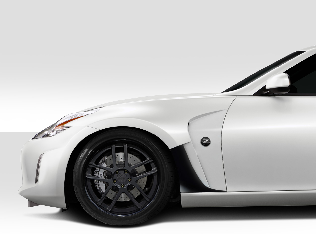09 16 fits nissan 370z cs r duraflex body kit front. Black Bedroom Furniture Sets. Home Design Ideas