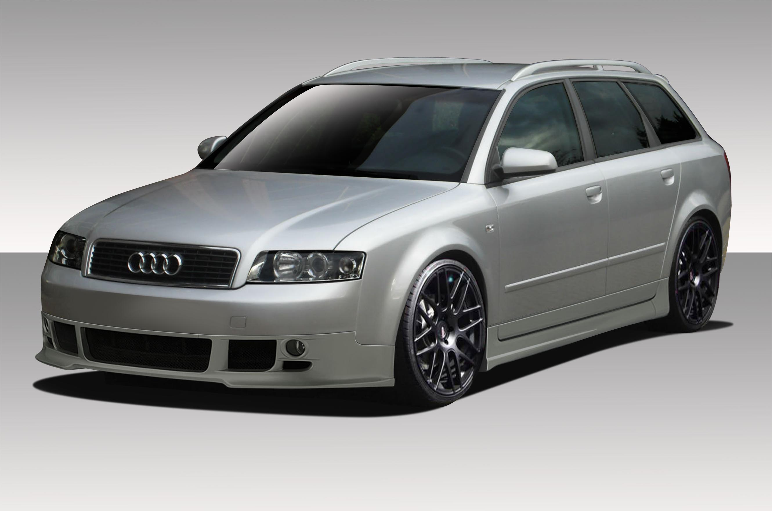 extreme dimensions 2002 2005 audi a4 wagon duraflex type a body kit 4 piece wholesale car parts. Black Bedroom Furniture Sets. Home Design Ideas