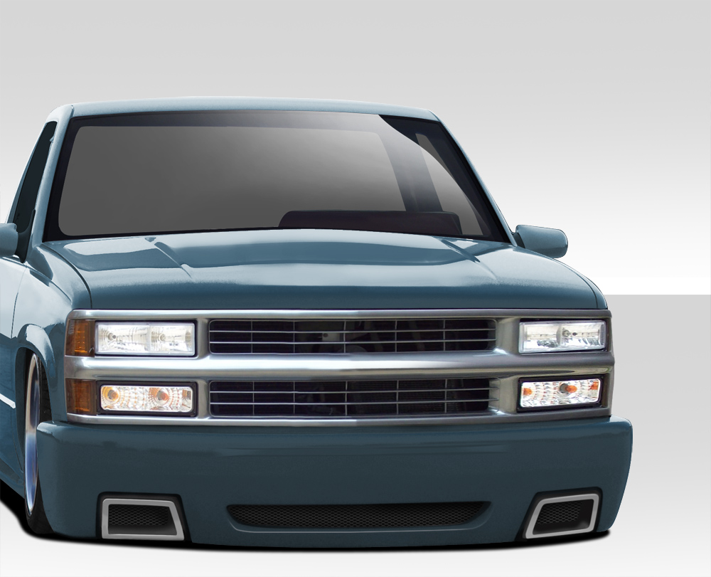 Chevrolet Tahoe 97 >> 92-99 Chevy Tahoe Suburban Duraflex SS Look Front Bumper Body Kit | eBay