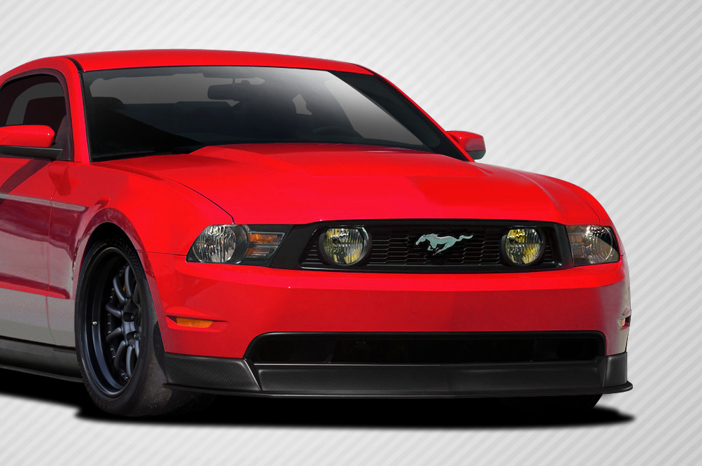 front lip add on body kit for 2011 ford mustang 2010. Black Bedroom Furniture Sets. Home Design Ideas