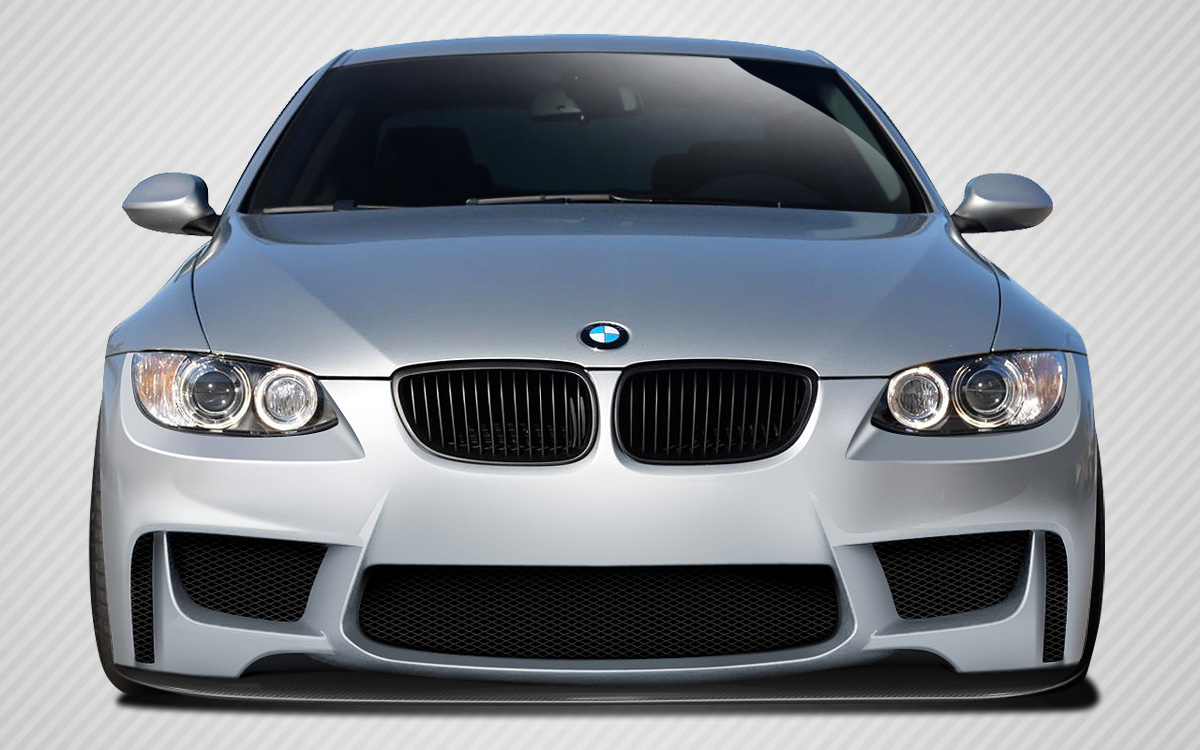 2008 BMW 3 Series 2DR Front Lip Add On Body Kit