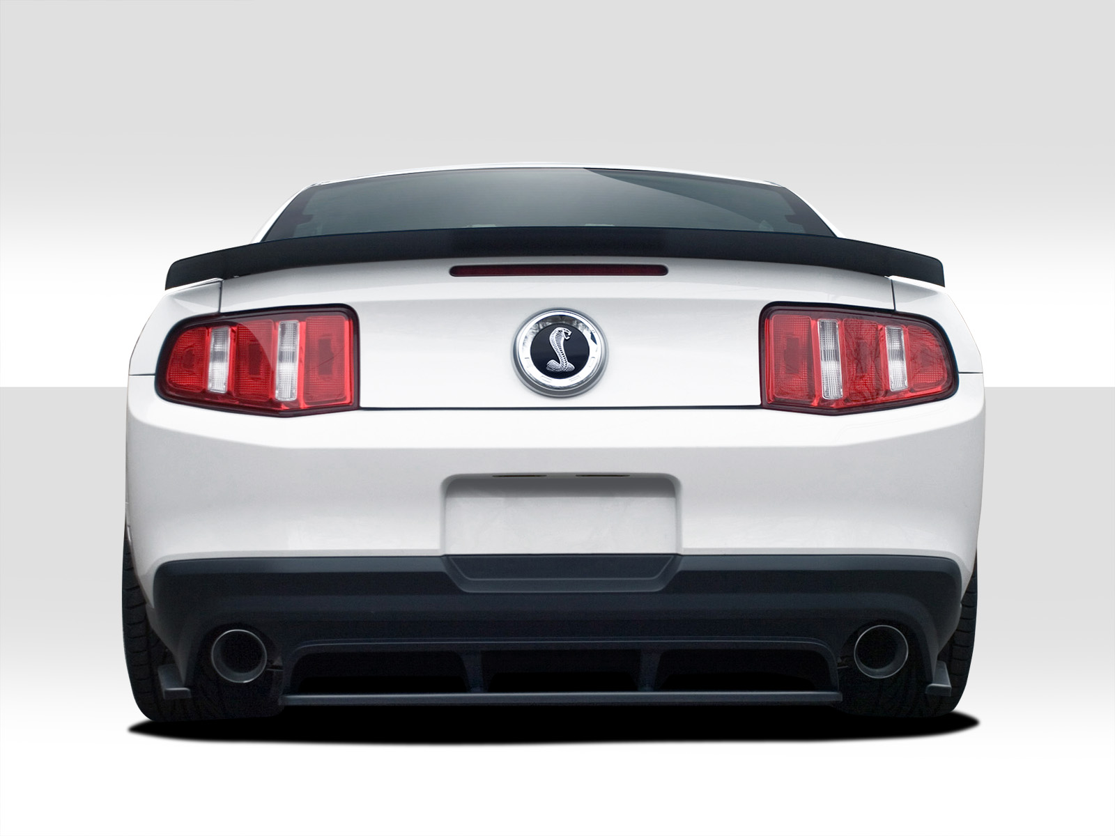10 12 ford mustang r500 duraflex rear bumper diffuser body. Black Bedroom Furniture Sets. Home Design Ideas