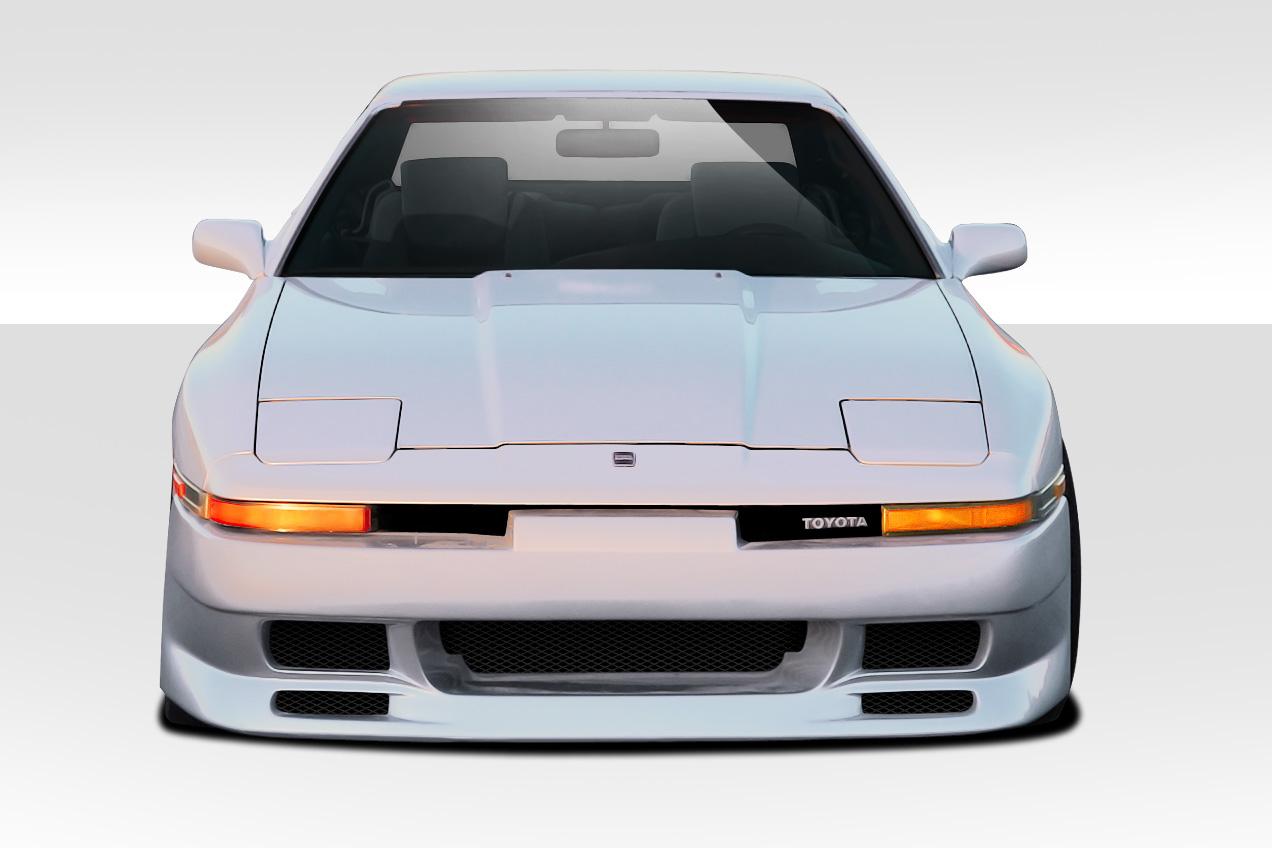 FIT 1986-1992 Toyota Supra Duraflex Type G Front Bumper Cover - 1 ...