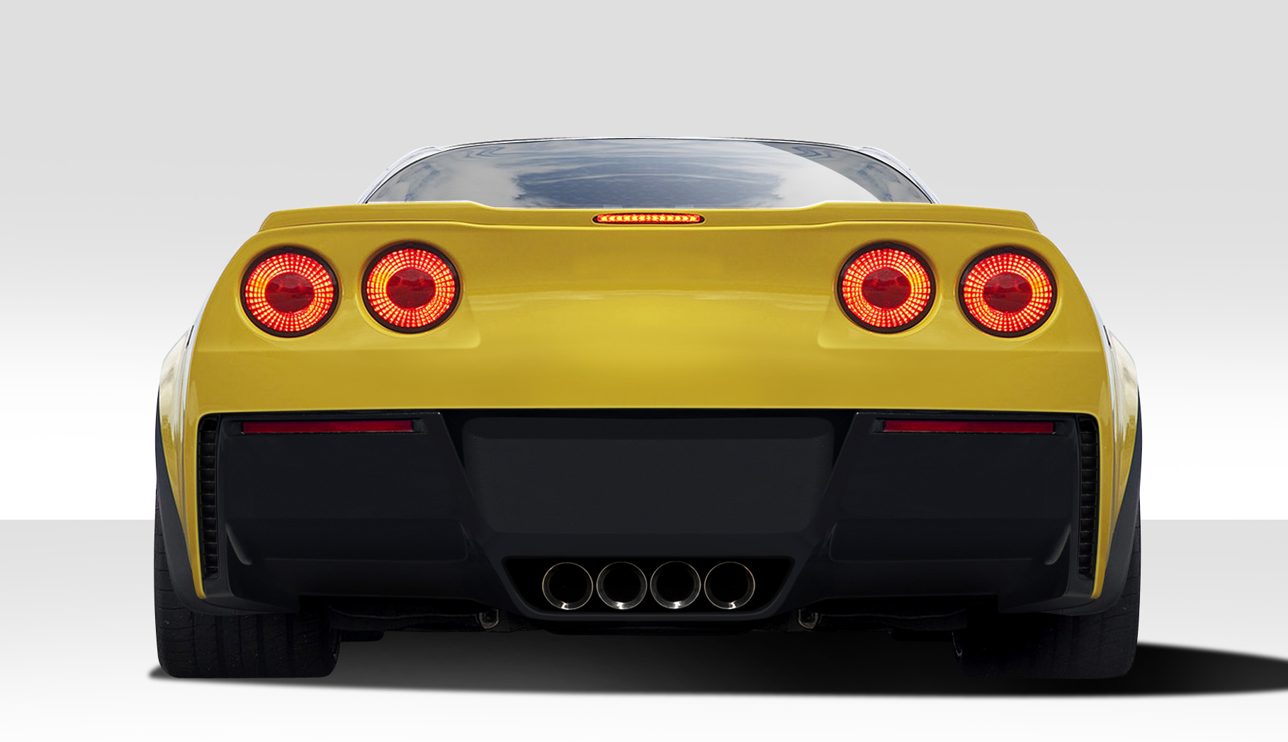 2005 2013 Chevrolet Corvette C6 Duraflex Stingray Z Rear
