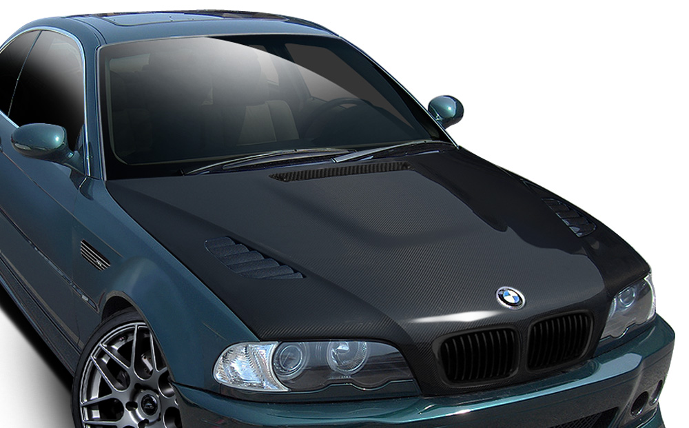 2002 bmw m3 carbon fiber hood body kit 2001 2006 bmw m3. Black Bedroom Furniture Sets. Home Design Ideas