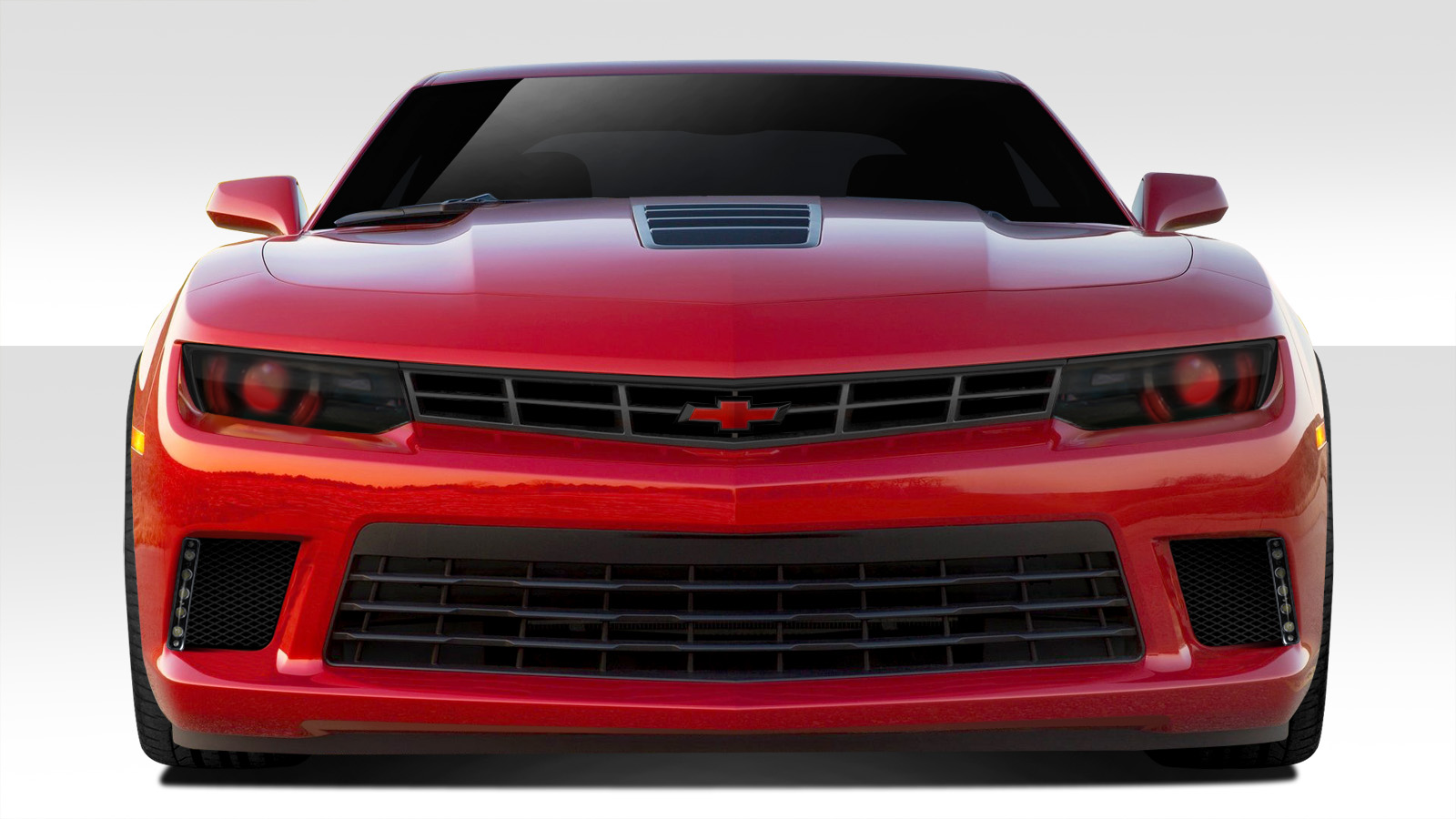 2014 2015 Chevrolet Camaro Duraflex GT Concept Front Bumper Cover 1 Piece on ford edge grill