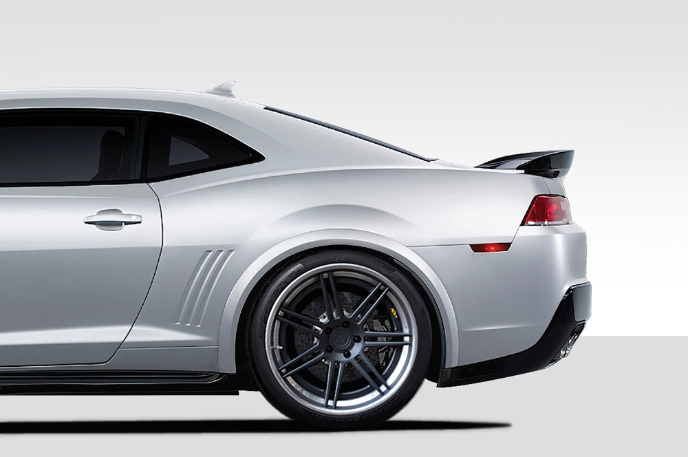 Duraflex Z28 Look Rear Fender Flares 2 Piece For 2010