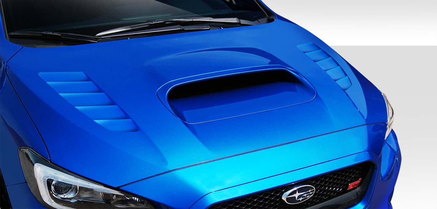 2015 2016 subaru wrx duraflex nbr concept hood 1pc body. Black Bedroom Furniture Sets. Home Design Ideas
