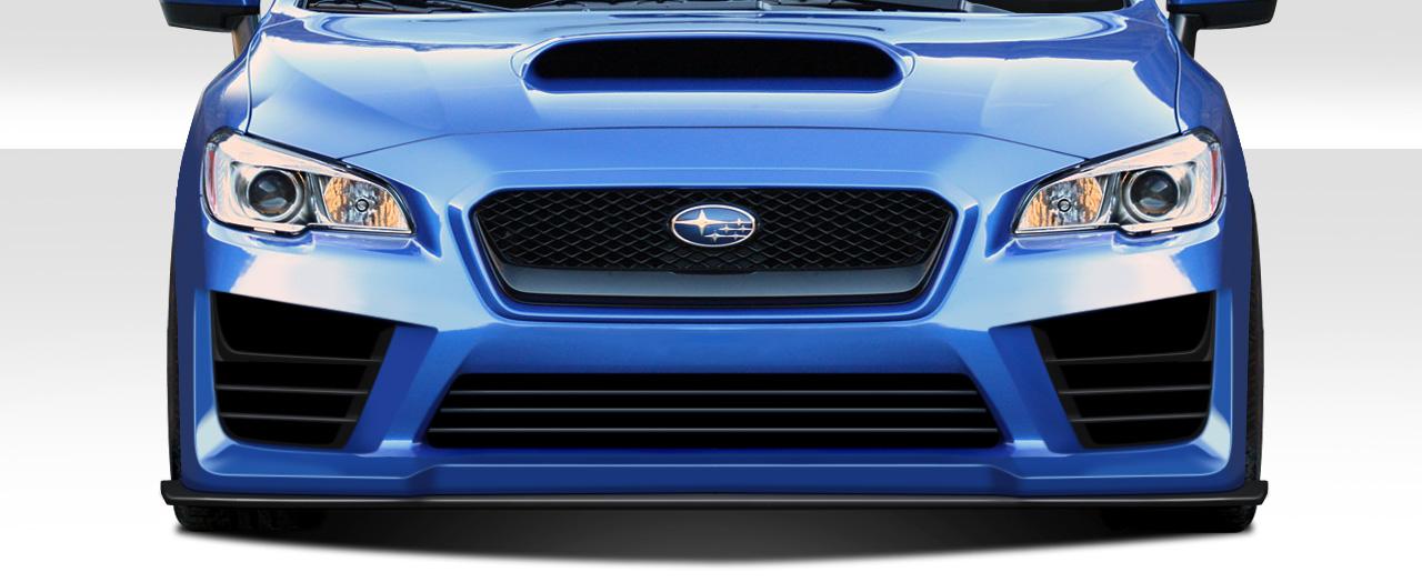 Front Lip-Add On Body Kit for 2018 Subaru WRX - 2015-2019 Subaru WRX  Duraflex NBR Concept Front Splitter - 1 Piece