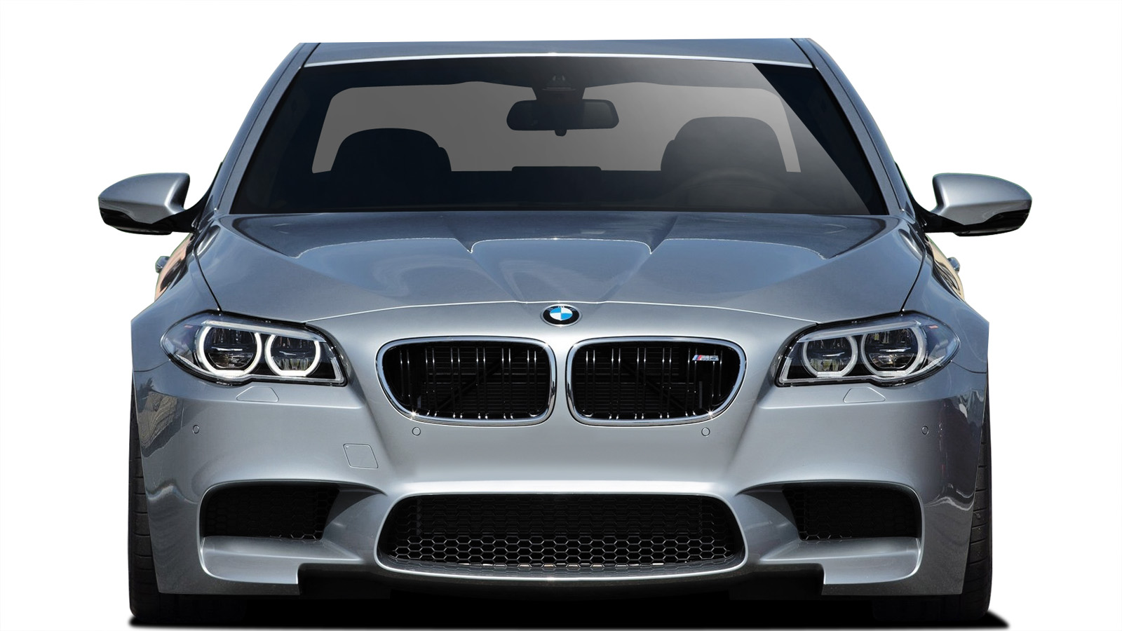 2015 BMW 5 Series ALL - Polypropylene Front Bumper Bodykit - BMW 5 Series F10 Vaero M5 Look Conversion Front Bumper Cover ( with PDC , with Washer , w