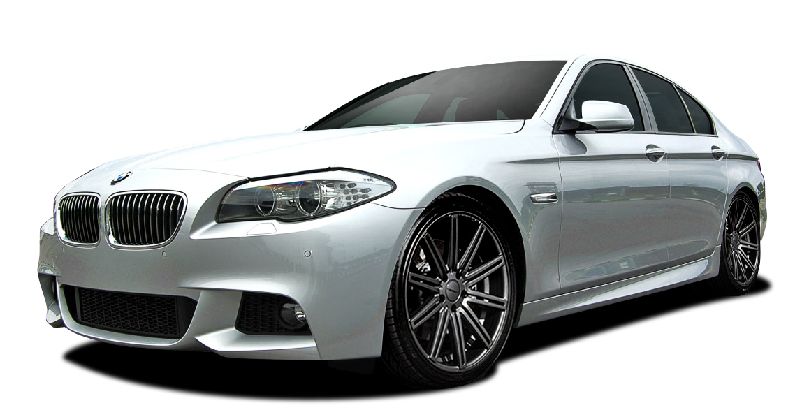 2015 BMW 5 Series 4DR - Polypropylene Body Kit Bodykit - BMW 5 Series 535i F10 Vaero M Sport Look Body Kit ( with PDC , without Side Cameras ) - 5 Pie