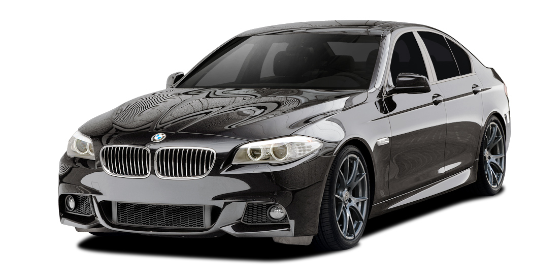 Polypropylene Body Kit Bodykit for 2015 BMW 5 Series 4DR - BMW 5 Series 550i F10 Vaero M Sport Look Body Kit ( without PDC , with Side Cameras ) - 5 P
