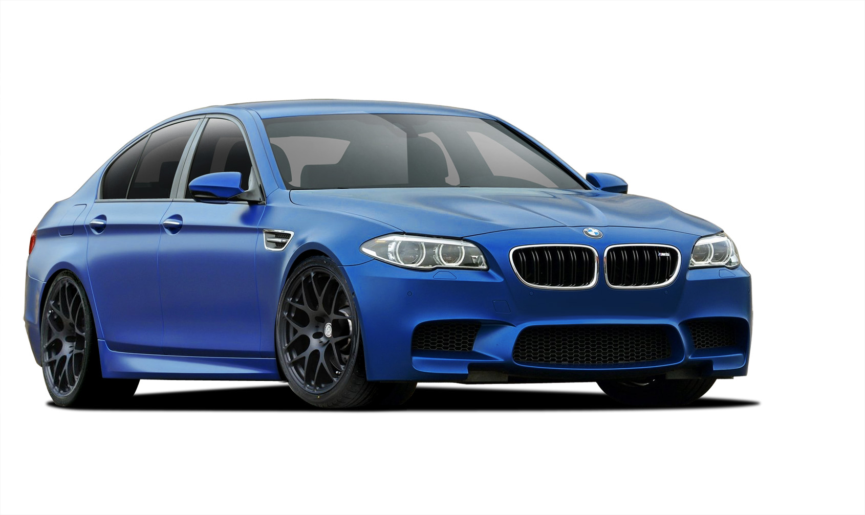 Polypropylene Body Kit Bodykit for 2015 BMW 5 Series 4DR - BMW 5 Series F10 Vaero M5 Look Conversion Kit ( with PDC , with Washer , with Camera ) - 6