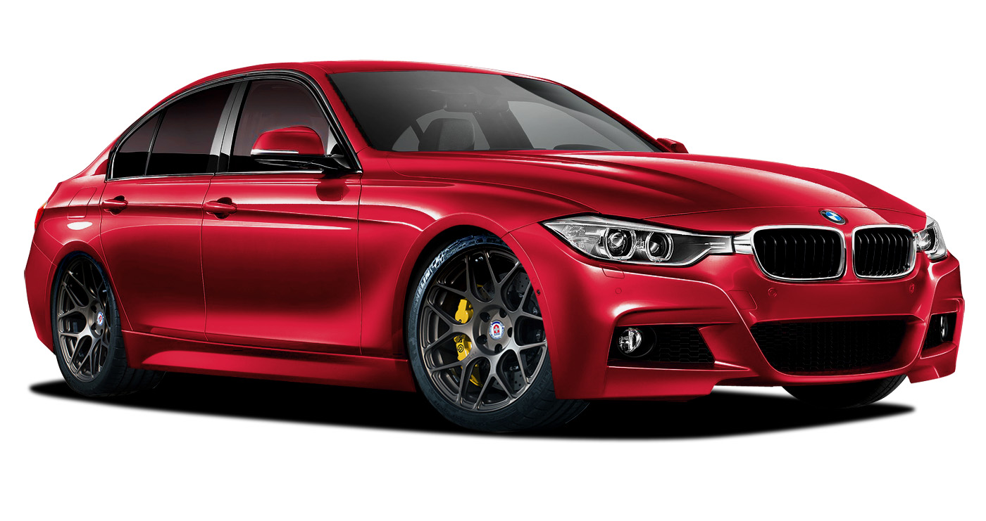 Polypropylene Body Kit Bodykit for 2015 BMW 3 Series ALL - BMW 3 Series 320i F30 Vaero M Sport Look Kit ( with PDC , with Park Aid , with Washer , wit