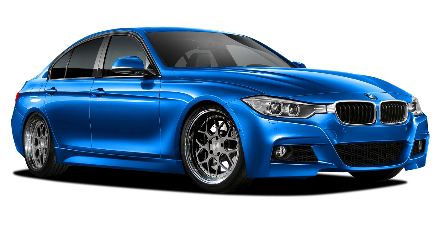 Polypropylene Body Kit Bodykit for 2015 BMW 3 Series ALL - BMW 3 Series 328i F30 Vaero M Sport Look Kit ( with PDC , with Park Aid , with Washer , wit