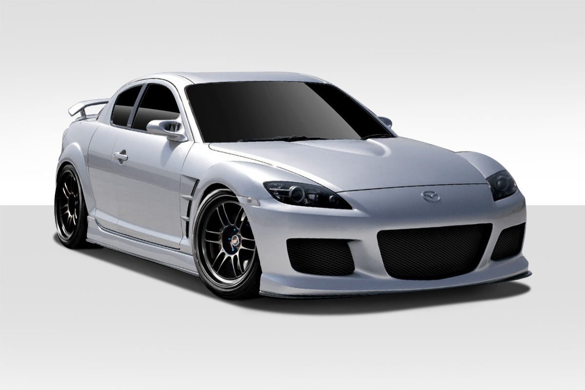 welcome to extreme dimensions item group 2004 2008 mazda rx 8 duraflex m 1 speed body kit. Black Bedroom Furniture Sets. Home Design Ideas