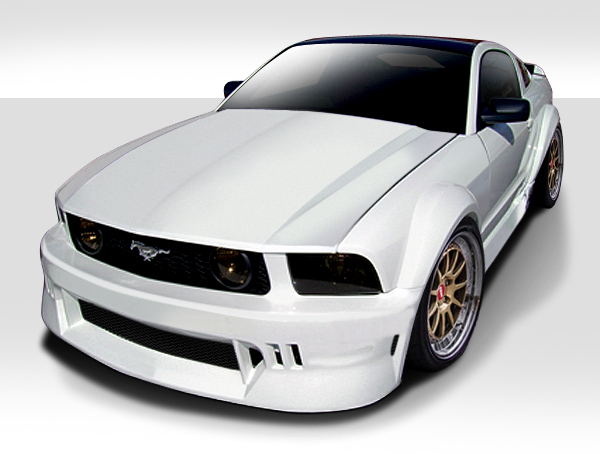 welcome to extreme dimensions item group 2005 2009 ford mustang duraflex circuit wide body. Black Bedroom Furniture Sets. Home Design Ideas