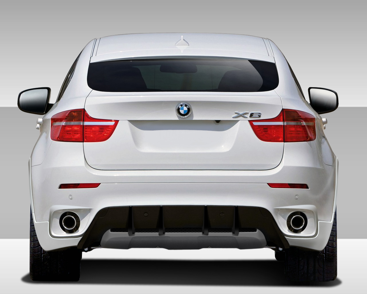 welcome to extreme dimensions inventory item 2008 2014 bmw x6 e71 e72 eros version 1 rear. Black Bedroom Furniture Sets. Home Design Ideas